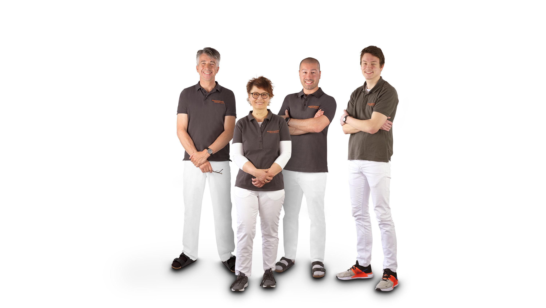 Team Physiotherapie Giacomo Aversente